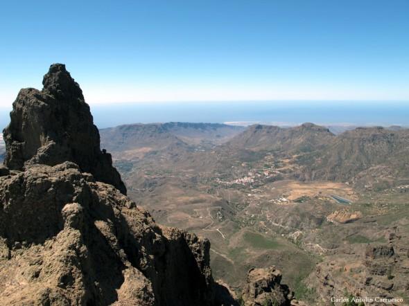 Morro de la Agujerada (1.956 metros) - Pico de las Nieves - Gran Canaria