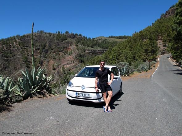 Mirador de la Caldera de los Marteles - Gran Canaria