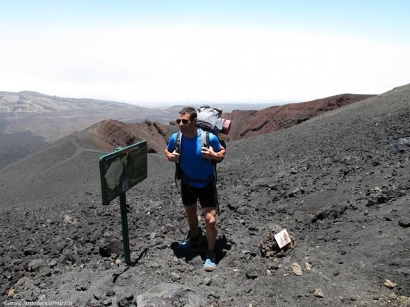 sendero y ruta Nº9 - Teide - Tenerife<br/>Narices del Teide
