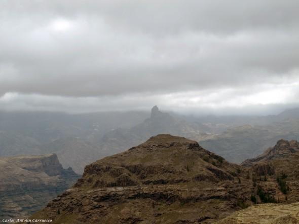 El Laurelillo - El Viso - Gran Canaria - roque - bentayga