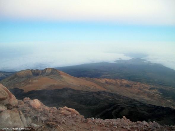 amanecer - Teide 3.718 metros - Tenerife