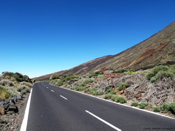Teide - Tenerife<br/>TF-21 - Base del Teide y del Teleférico