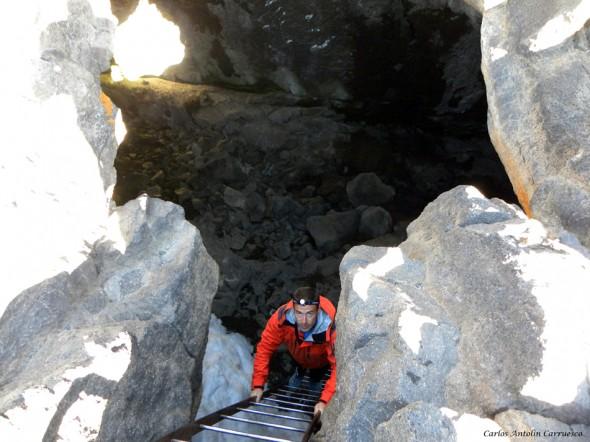 La Cueva del Hielo - Ruta Nº7 - Teide - Tenerife
