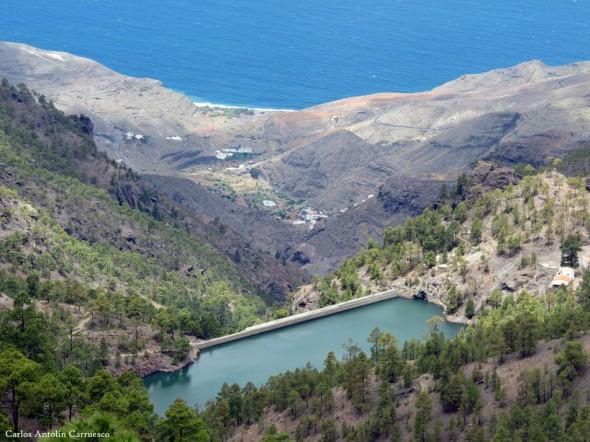 presa de Tirma - Altavista - Gran Canaria