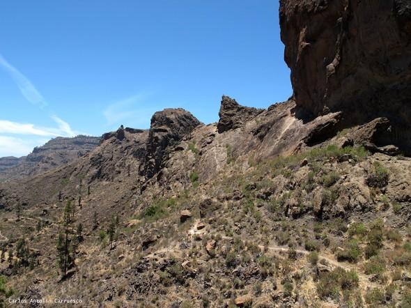 sendero de Soria - Cueva de Las Niñas - Gran Canaria