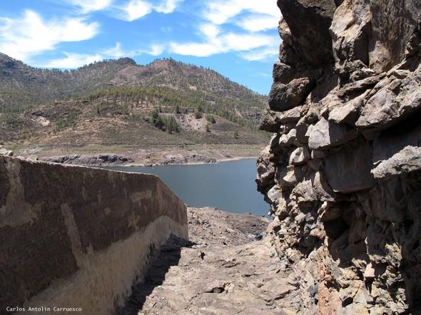 canales de Cueva de Las Niñas, Soria y Salto del Perro - Gran Canaria