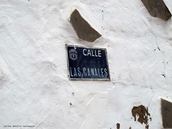 Firgas - Gran Canaria<br/>Calle Las Canales