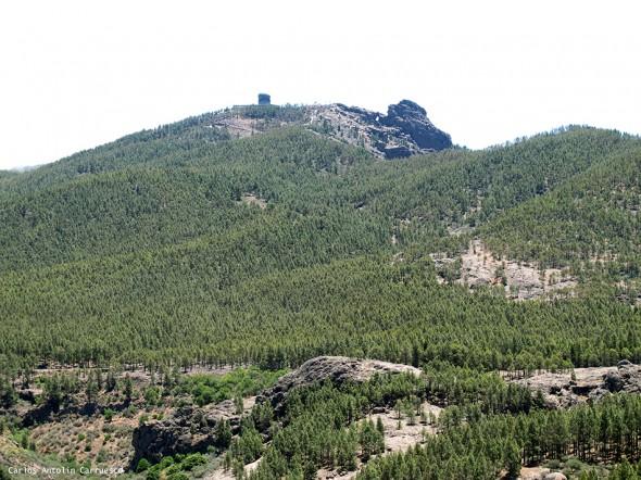 La Goleta - Roque Nublo - Gran Canaria - pico de las nieves