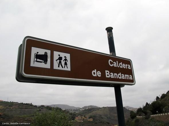 Caldera de Bandama - Caserío de Bandama - Gran Canaria