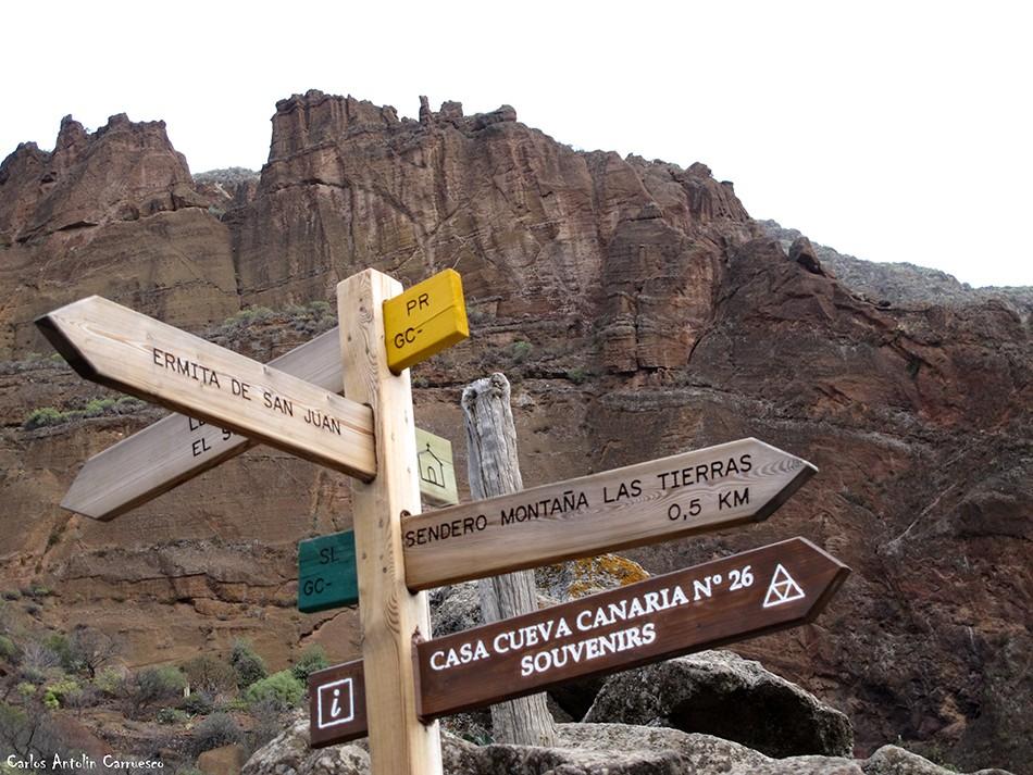 Guayadeque - Montaña Las Tierras - Gran Canaria