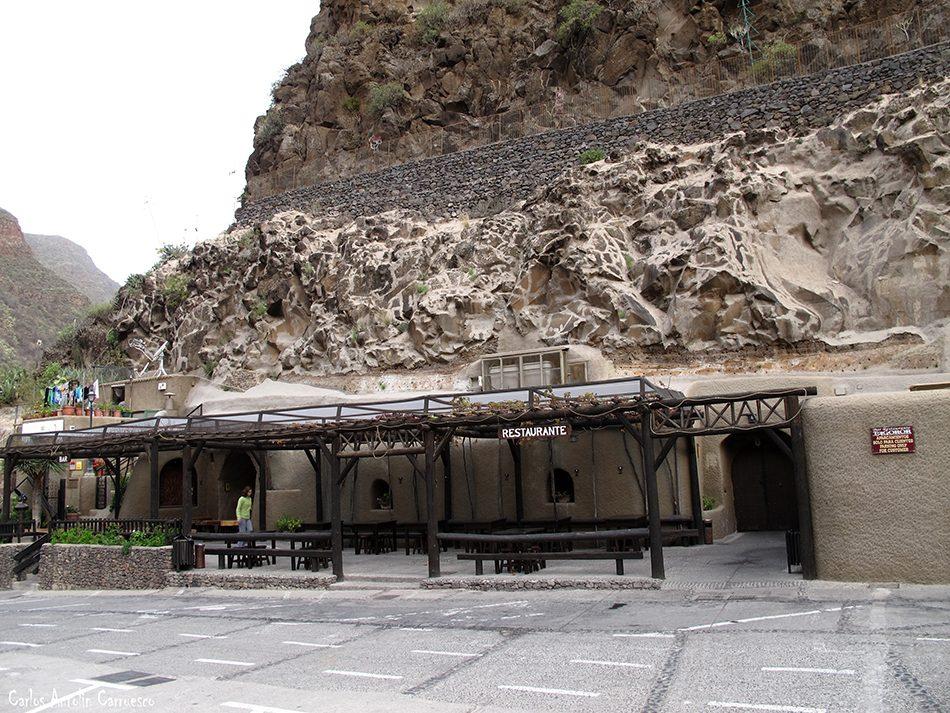 Montaña de Las Tierras - Guayadeque - Gran Canaria - restaurante Tagoror