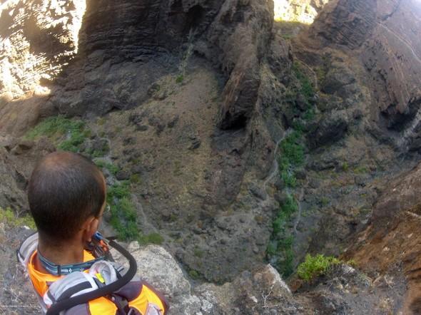 Canales de Masca - Teno - Tenerife - Ruta de extrema dificultad