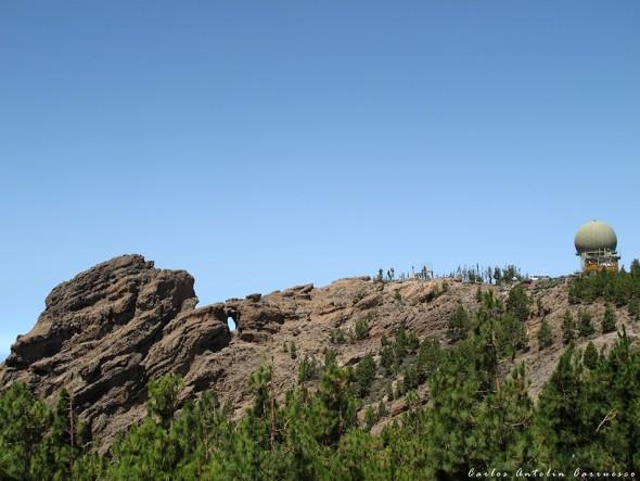 Riscos de Tirajana - Gran Canaria - pico de las nieves