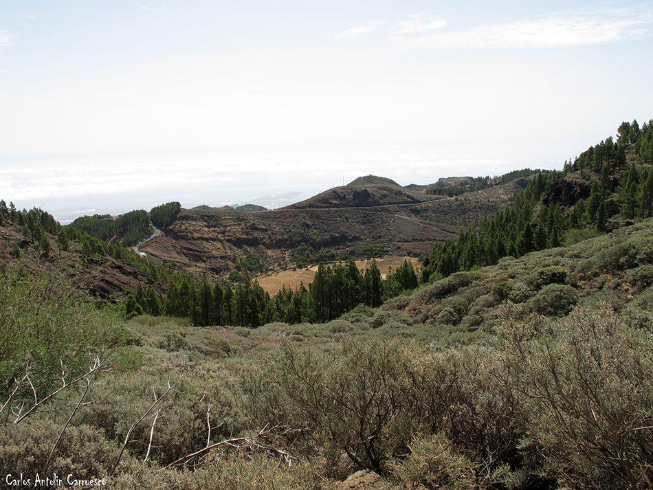 La caldera de Los Marteles - Gran Canaria