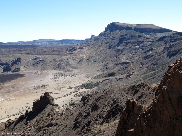 Cumbres de Ucanca - El filo - P.N. del Teide<br/>Tenerife