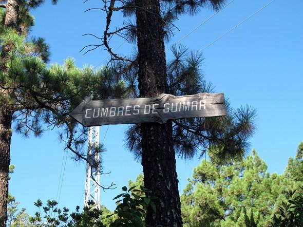 Parque Natural de la Corona Forestal - Tenerife - cumbres de güimar