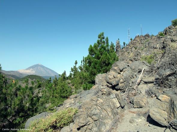 Montaña Ayosa - Caldera de Pedro Gil - Tenerife
