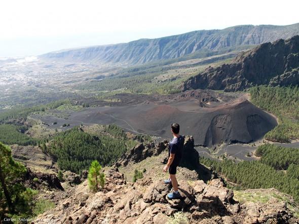 Gollada Chabique - Volcán Montaña de Las Arenas - Tenerife
