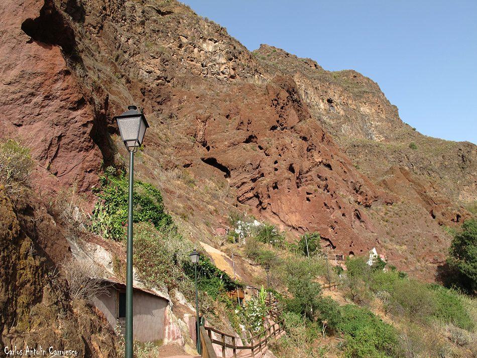 Casas Cueva - Cueva Bermeja - Guayadeque - Gran Canaria