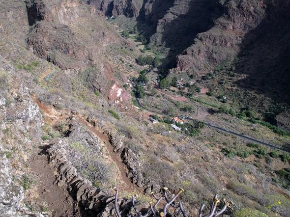 Cueva Bermeja - barranco de Guayadeque - Gran Canaria - gc103