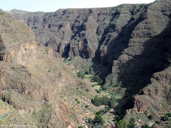 Cueva Bermeja - barranco de Guayadeque - Gran Canaria