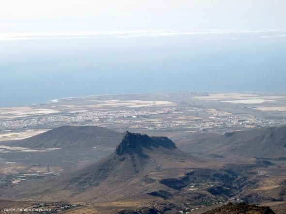 Temisas - Roque Teheral (912 m.) - Gran Canaria