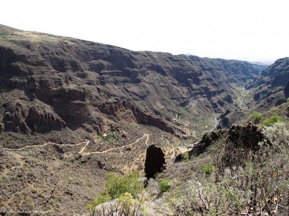 Barranco de Guayadeque - Montaña de Las Tierras - Gran Canaria