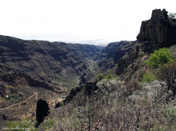 Barranco de Guayadeque - Gran Canaria - casa cueva