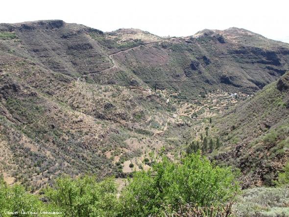 dirección a la Cruz del Socorro - Gran Canaria