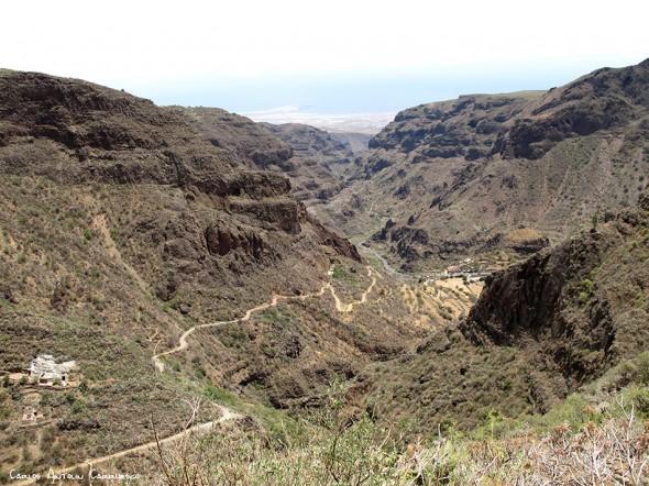 sendero de Paso Bermejo - dirección a Lereta - Gran Canaria