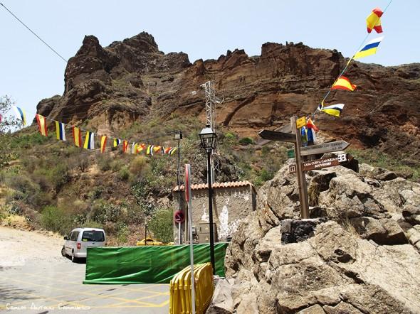 Montaña de las Tierras - Barranco de Guayadeque - Gran Canaria