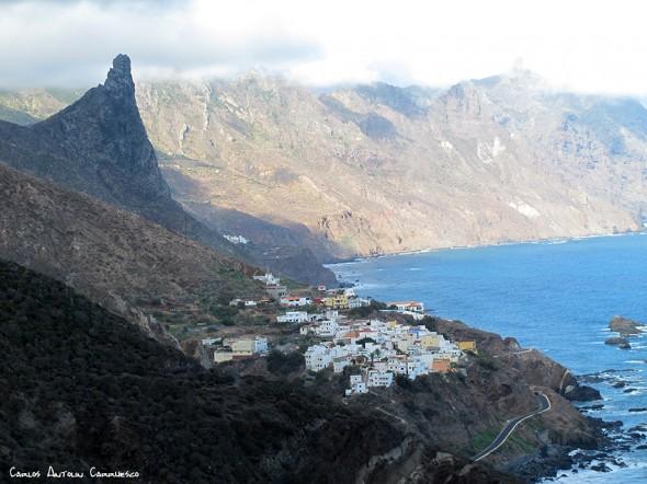 Benijo - Anaga - Tenerife - roque de las ánimas - almaciga
