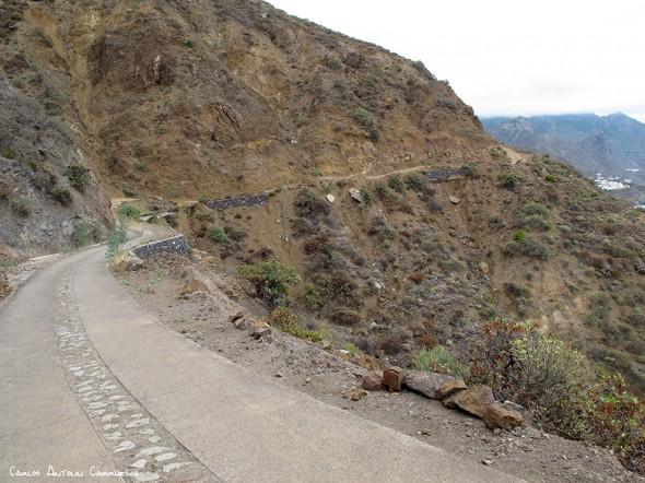 Anaga - pista al Draguillo - Tenerife