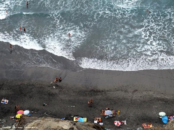 Anaga - pista al Draguillo - Tenerife - Playa de Benijo