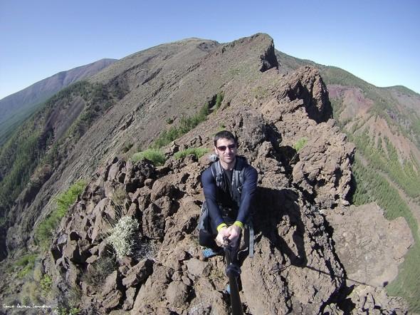 Cho Marcial - Caldera de Pedro Gil<br/>GoPro - isla de Tenerife