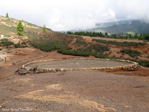 base del Roque Imoque - Ifonche - Tenerife