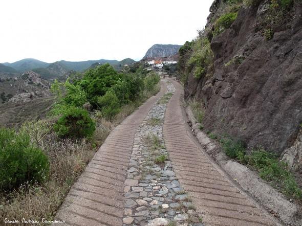 Barranco de Afur - Afur - Anaga - Tenerife - el fronton