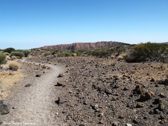 sendero Nº22 - P.N. del Teide - Tenerife<br/>La Fortaleza