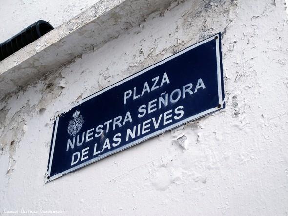 Taganana - Tenerife<br/>Plaza Nuestra Señora de Las Nieves