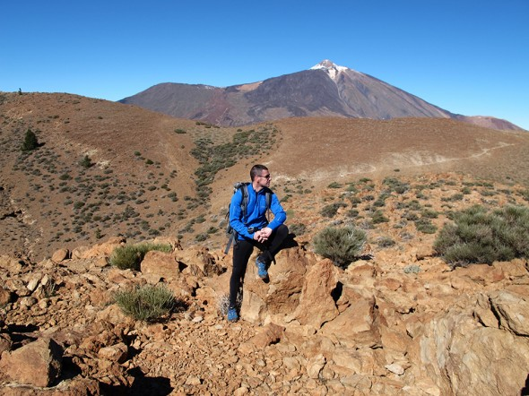 Sombrero de Chasna - Parque Nacional del Teide - Tenerife