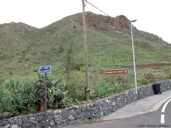 Valle San Lorenzo - Monumento Natural de Jama - Tenerife
