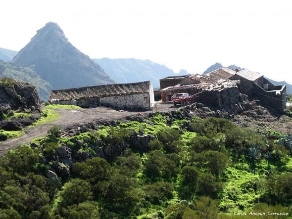 Masca - Parque Rural de Teno - TF436 - Tenerife - casas de araza