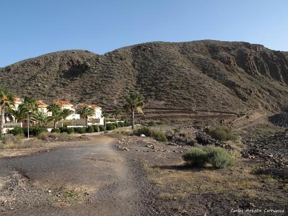 Los Cristianos - Tenerife - montaña de guaza