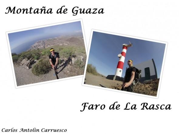 Montaña de Guaza - Faro de La Rasca - Tenerife
