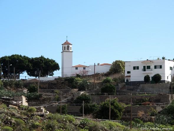 Charco del Pino - Camino Real del Sur - Tenerife - parroquia san luis IX - rey de francia