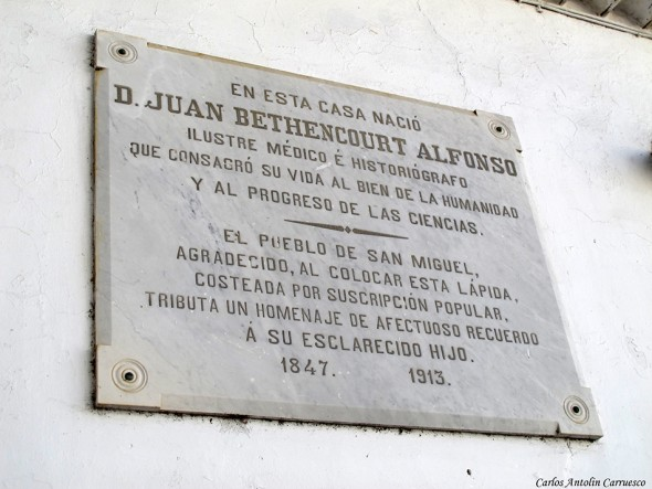 casa de D. Juan Bethencourt Alfonso - San Miguel de Abona - Tenerife