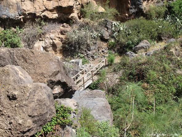 Sendero de la Fuente de Tamaide - Camino Real del Sur - Tenerife