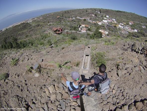 Guía de Isora - Camino de La Campana - GoPro - Tenerife