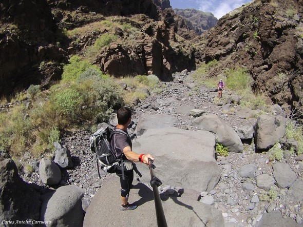 Barranco Nateros - Parque rural de Teno - Tenerife