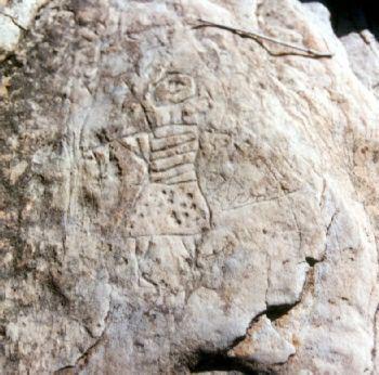 Grabados rupestres guanches